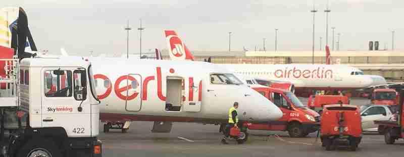 Airberlin at Hamburg Airport, by Flight Chic
