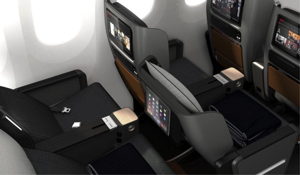 Qantas Reveals Dreamy New Premium Economy Class Flight Chic